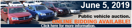 Online vehicle auction
