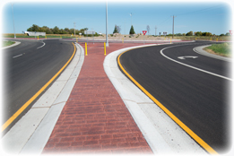 Bismarck District - County Roads Program Project - Burleigh Co Hwy 10 and 66th Roundabout