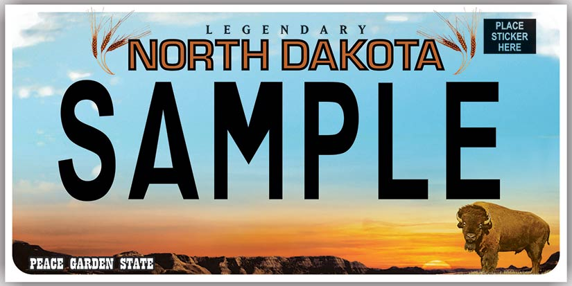 Nddot North Dakota Motor Vehicle Plates