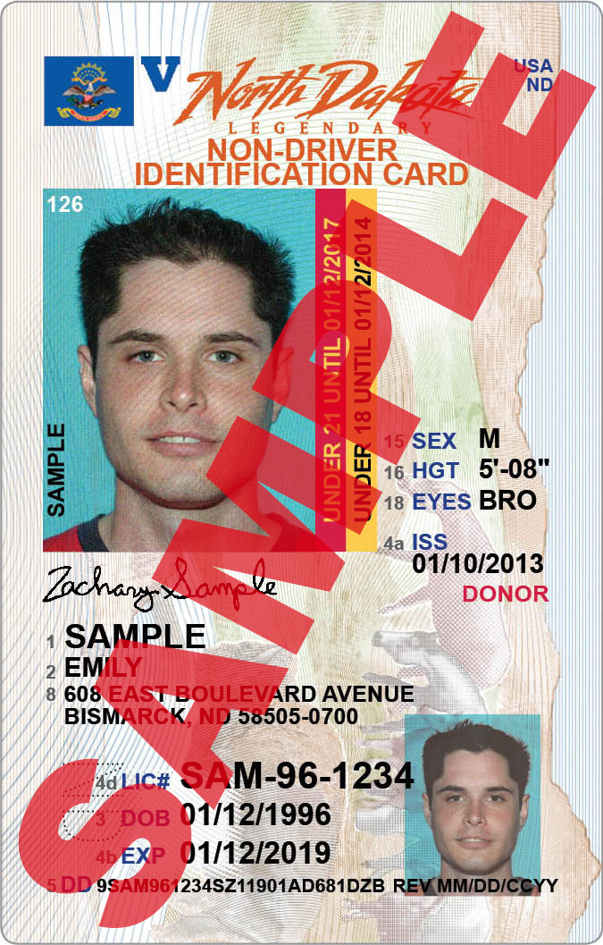 Non-driver Identification Card 2014