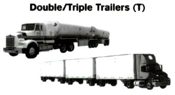 Double/Triple Trailers (T)