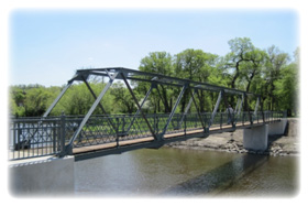 Elks Footbridge in Valley City
