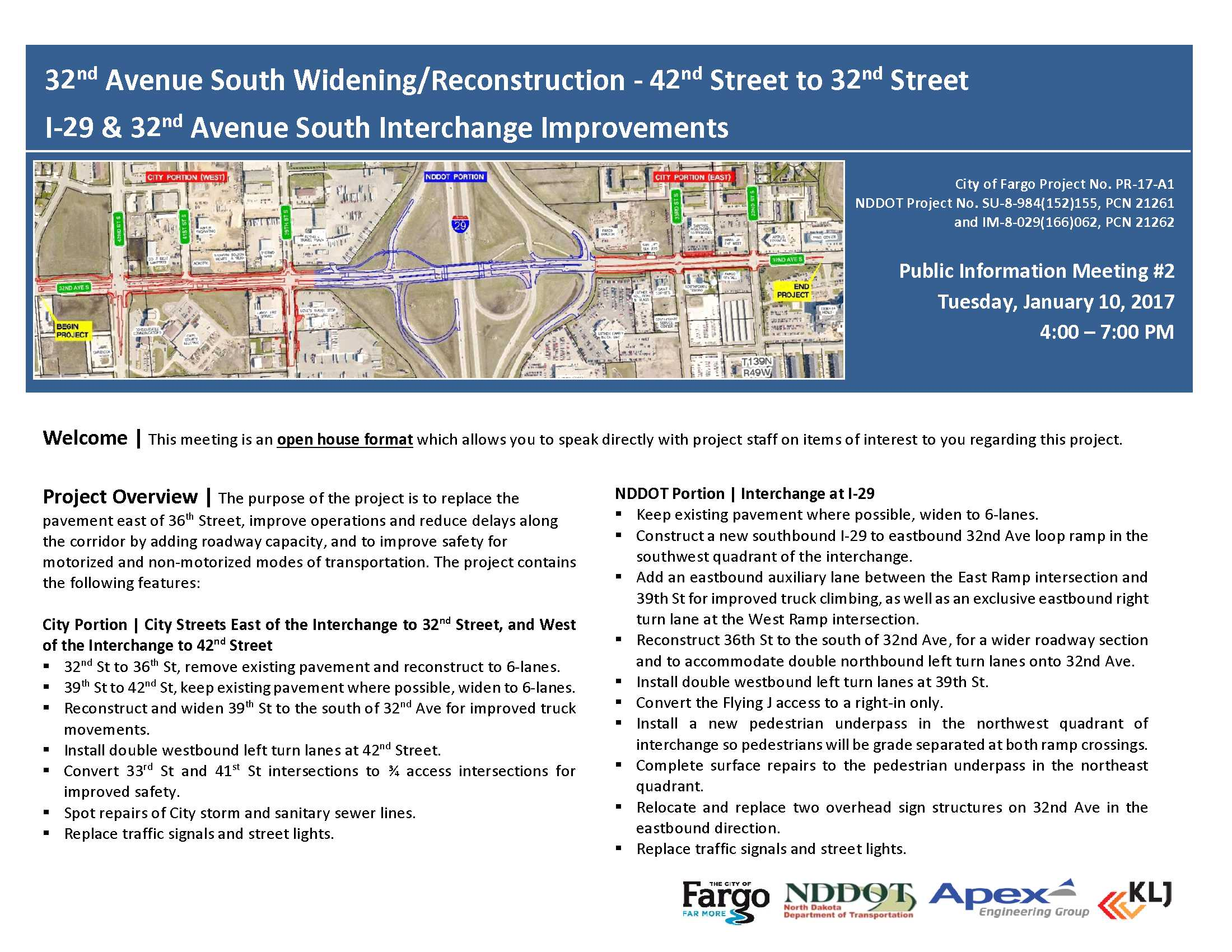 32nd Avenue South Reconstruction and I-29 overpass widening background and FAQ | Page 1