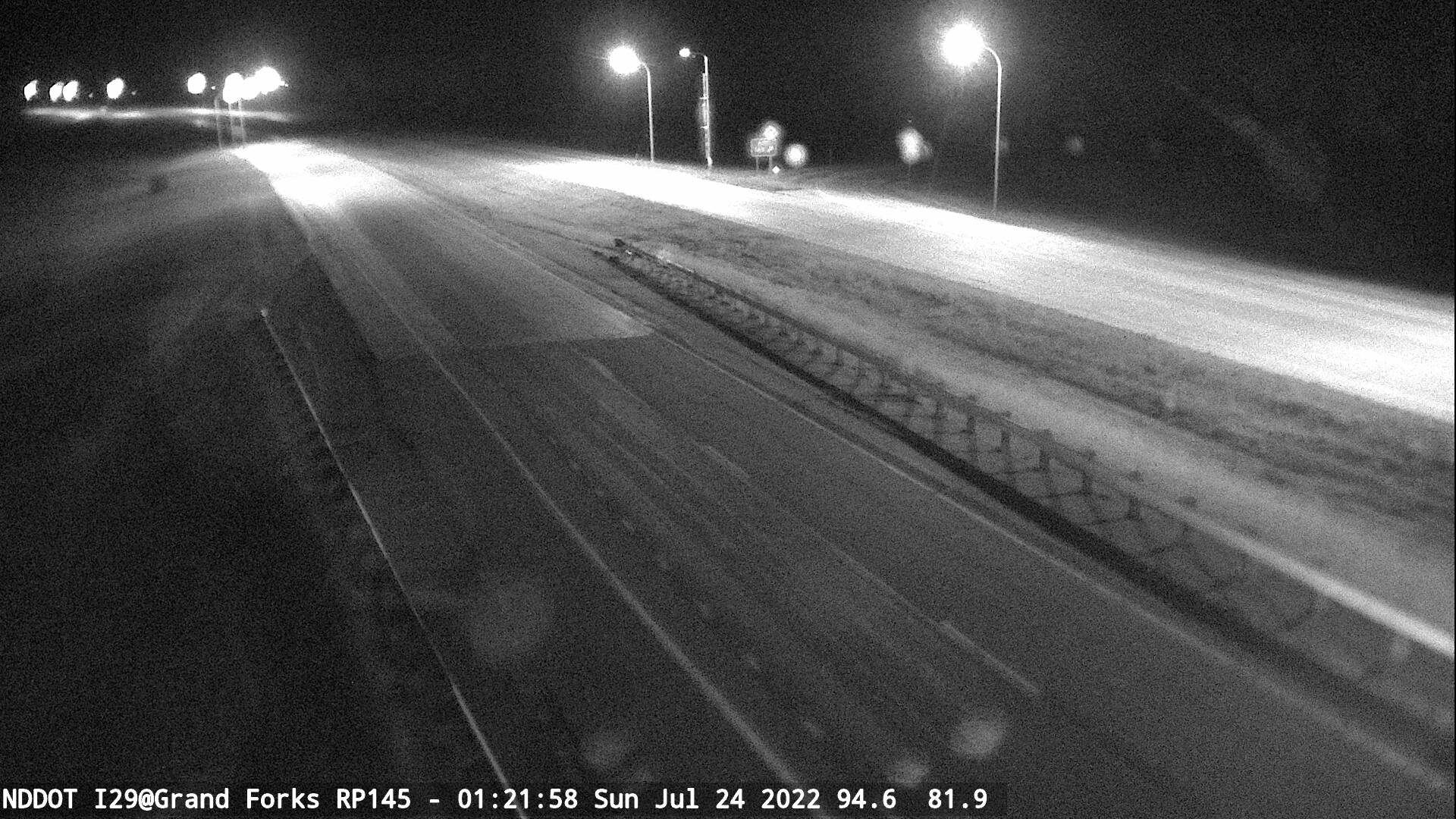 Grand Forks -  North (I 29 MP 145) - NDDOT