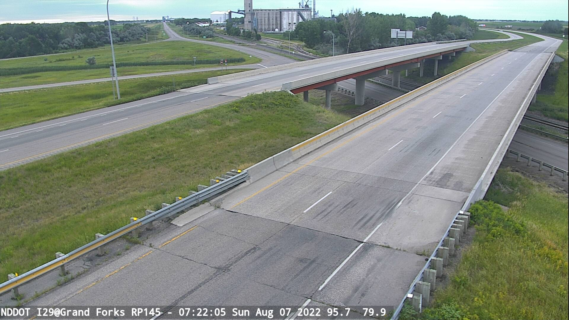 Grand Forks -  South (I 29 MP 145) - NDDOT
