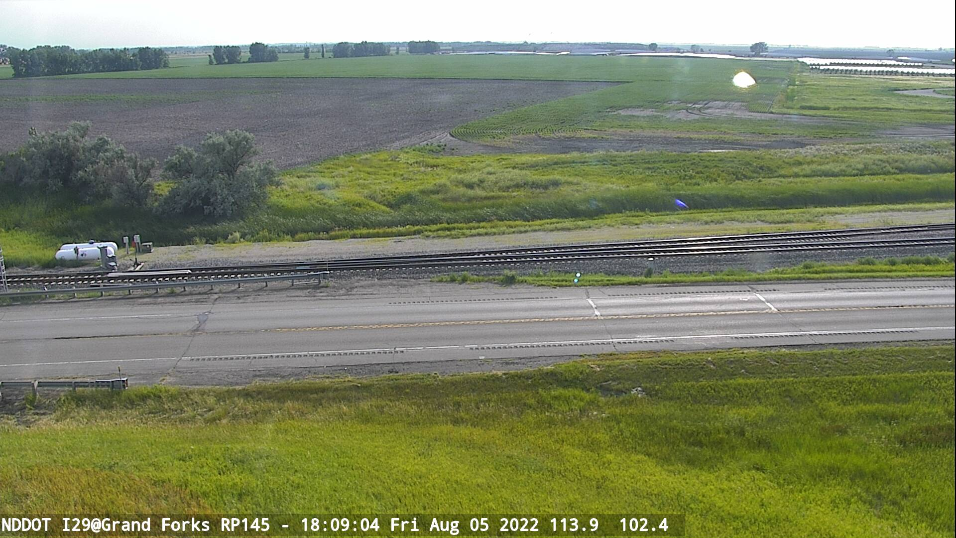 Grand Forks -  West (I 29 MP 145) - NDDOT