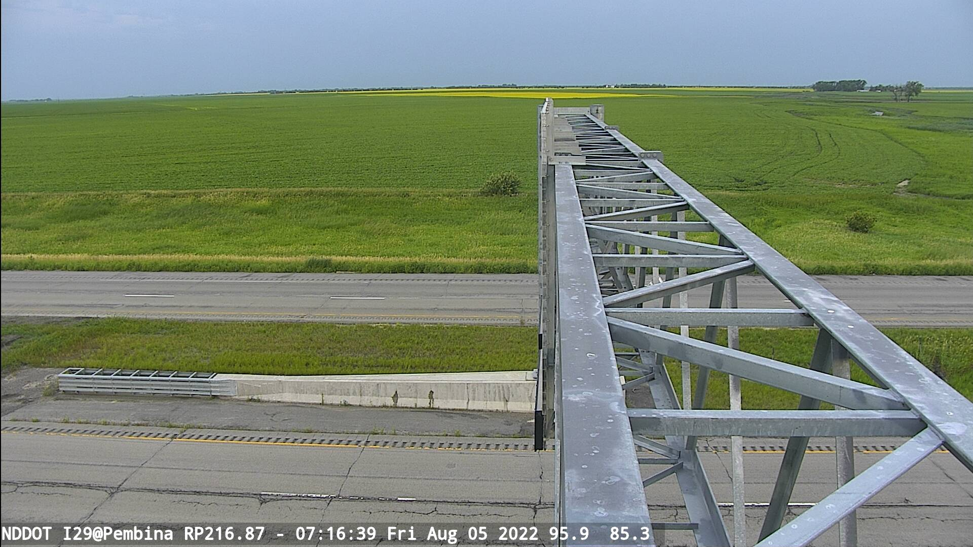 Port of Entry NB - West (I 29 MP 217) - NDDOT