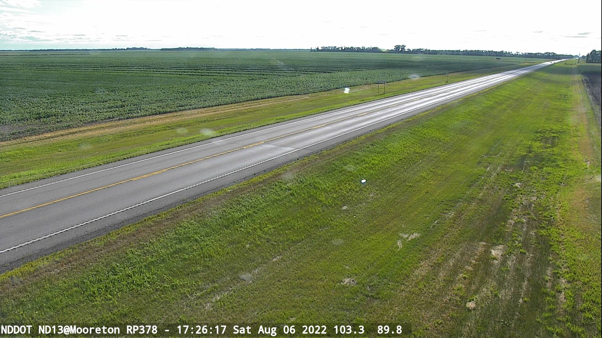 Mooreton - West (ND 13 MP 378) - NDDOT