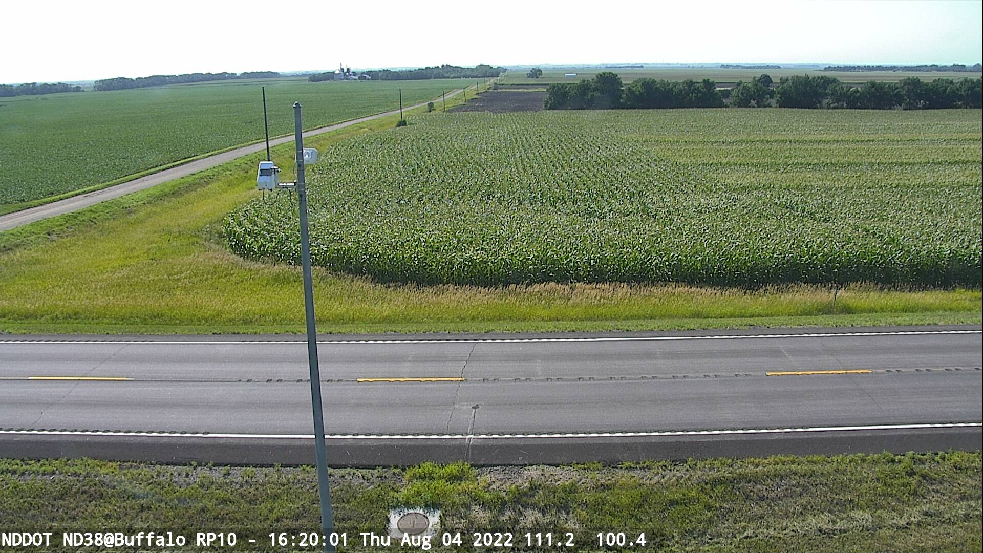Buffalo - West (ND 38 MP 10) - NDDOT