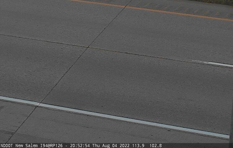 New Salem - Pavement (I 94 MP 126.9) - NDDOT