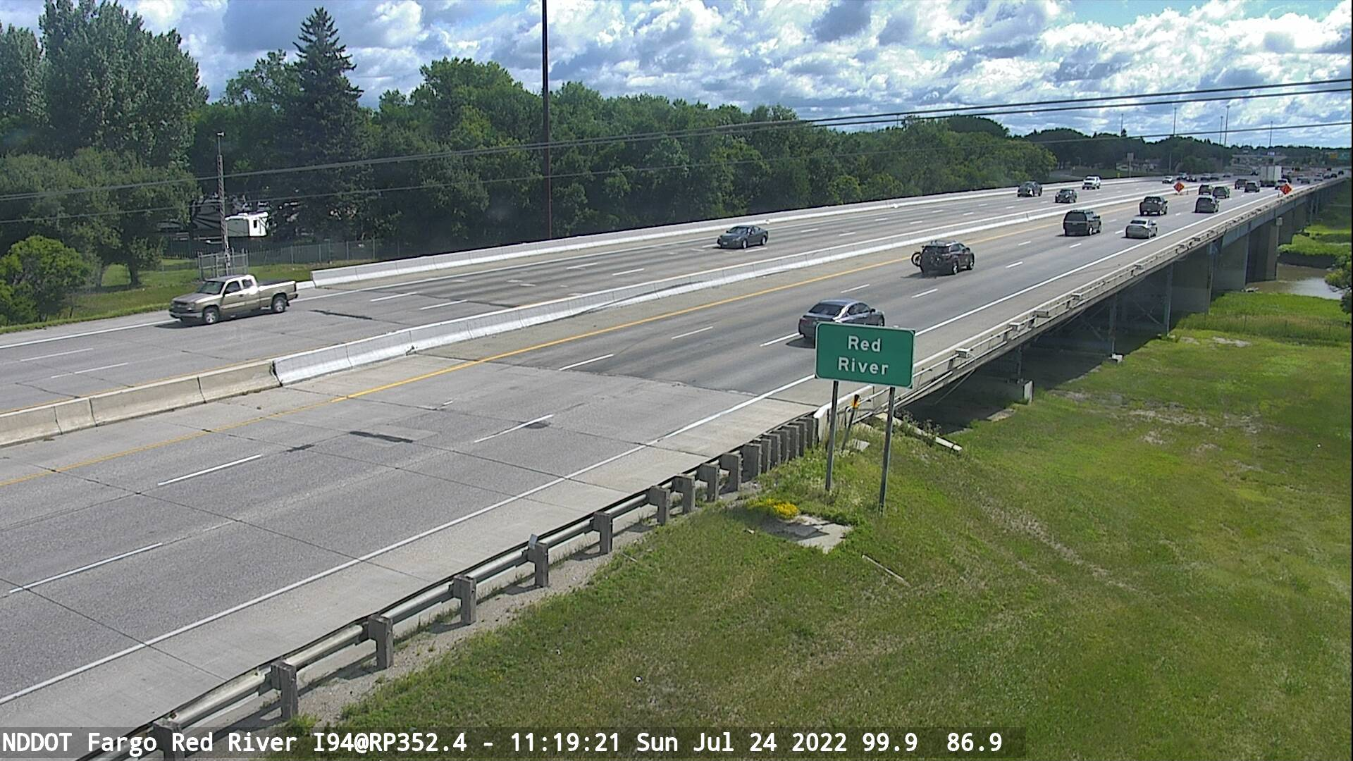 Red River Bridge - East (I 94 MP 352.4) - NDDOT