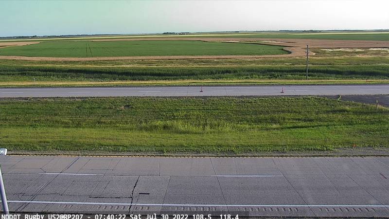 Rugby - North (US 2 MP 207.3) - NDDOT