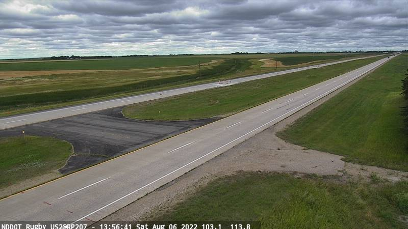 Rugby - East (US 2 MP 207.3) - NDDOT