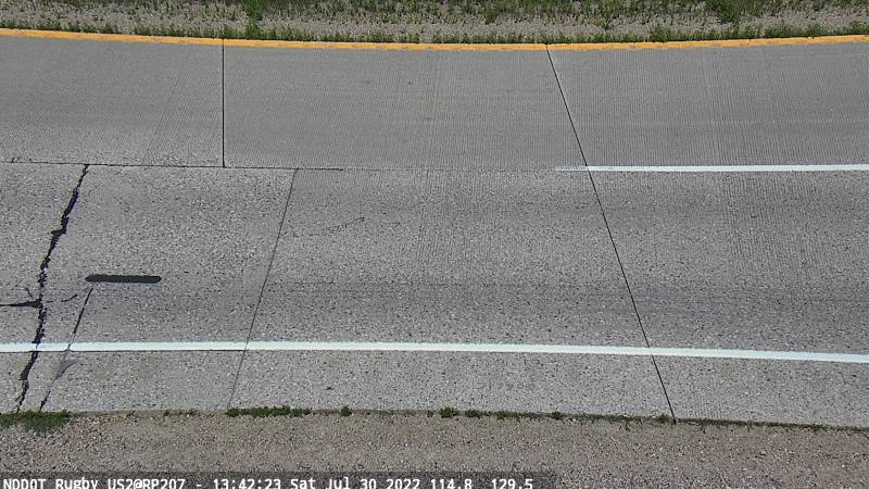 Rugby - Pavement EB (US 2 MP 207.3) - NDDOT