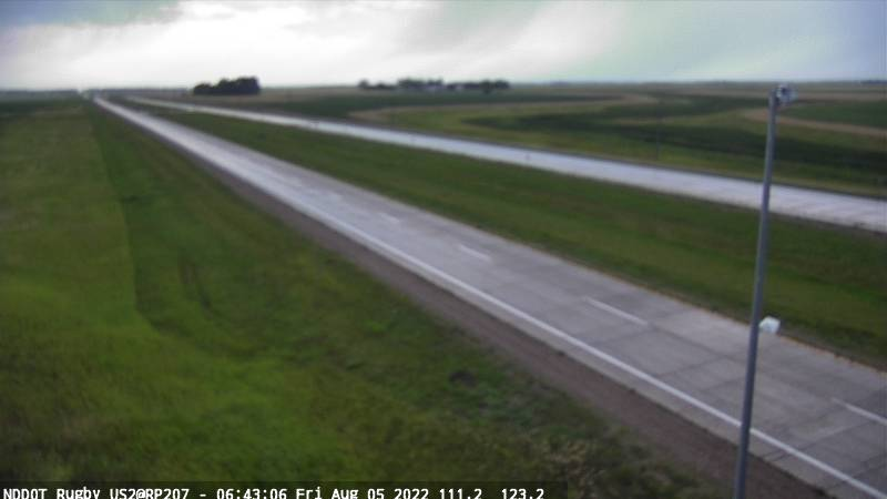 Rugby - West (US 2 MP 207.3) - NDDOT
