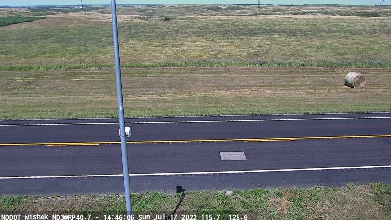 Wishek - North (ND 3 MP 40.7) - NDDOT