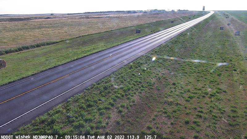 Wishek - East (ND 3 MP 40.7) - NDDOT