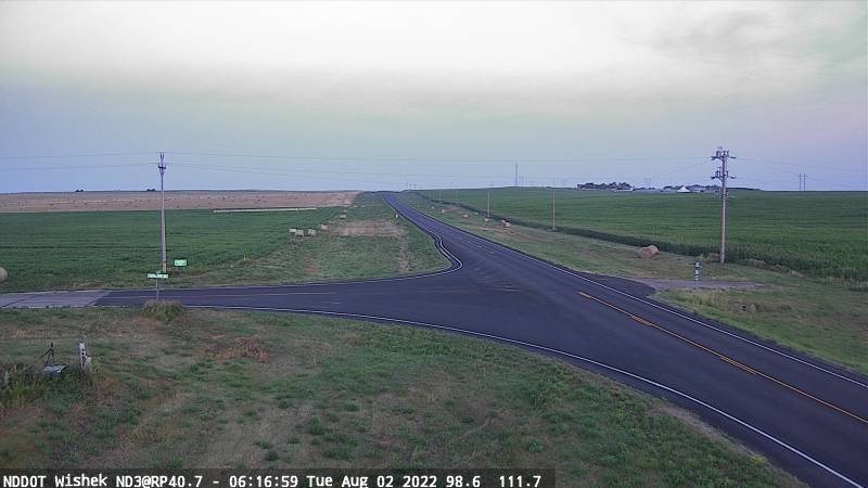 Wishek - West (ND 3 MP 40.7) - NDDOT
