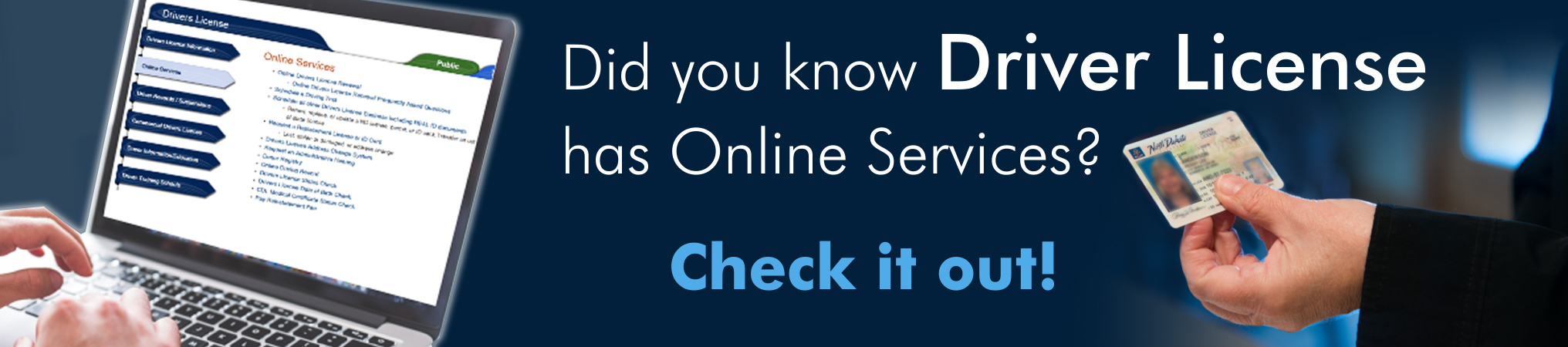 drivers license online services