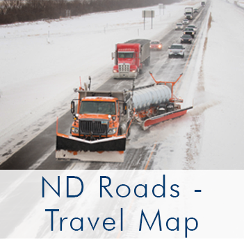 Travel Map / ND Roads